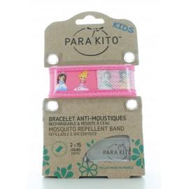 Bracelet Anti-moustiques Rose Para Kito Kids