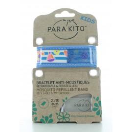 Bracelet Anti-moustiques Bleu Para Kito Kids