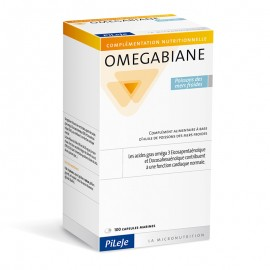 Omegabiane Poissons des Mers Froides Pileje 100 capsules