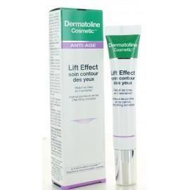 Soin Contour des Yeux Lift Effect Dermatoline Cosmetic 15 ml