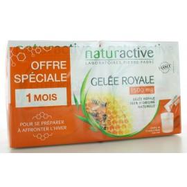 Gelée Royale 1500 mg Naturactive 2X15 sticks