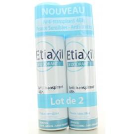 Déodorant Spray Anti-transpirant 48H Etiaxil 2X150 ml