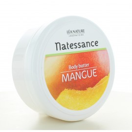 Beurre Corporel de Mangue Natessance 200 ml