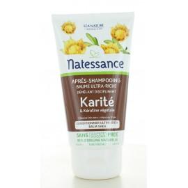 Après-shampooing Baume Ultra-riche Karité Natessance 150 ml
