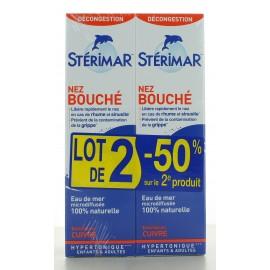 Spray Hypertonique Cuivre Stérimar 2X100 ml
