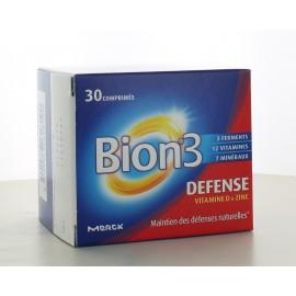 Bion 3 Défense Adulte 30 comprimés