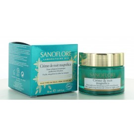 Crème de nuit Magnifica Sanoflore 50 ml