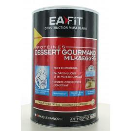 Dessert Gourmand Milk&Egg 95 Vanille Eafit 450g