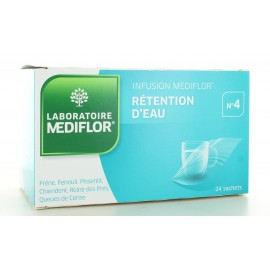 Infusion Mediflor n°4 Rétention d'Eau 24 sachets