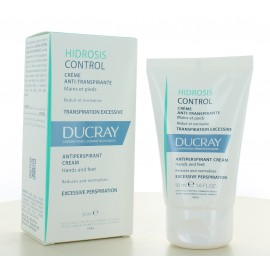 Crème Anti-transpirante Mains et Pieds Hidrosis Control Ducray 50 ml