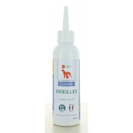 Lotion Oreilles Chien&Chat Up Véto 100 ml