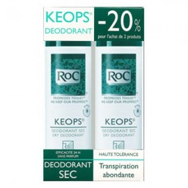 Déodorant Sec Keops Roc 2X150 ml