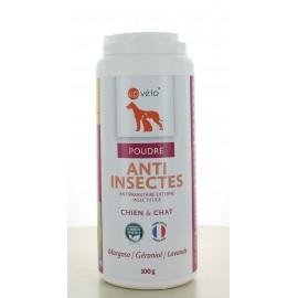 Poudre Anti Insectes Chien&Chat Up Véto 100 g