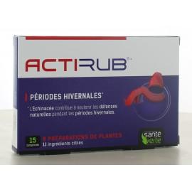 ActiRub Santé Verte 15 comprimés