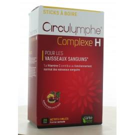 Complexe H Circulymphe Santé Verte 20 sticks à boire
