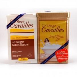 CAVAILLES GEL BAIN DOUCHE SURGRAS 300ML X2