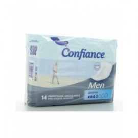 Confiance Men 14 protections absorbantes