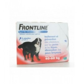 Frontline Spot On Chien 40-60 kg 4 pipettes