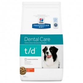 Croquettes Hill's Prescription Diet Canine Dental Care t/d 10kg