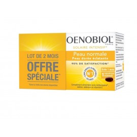 Oenobiol Solaire Intensif Peau Normale 2X30 capsules