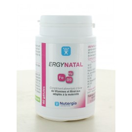 Ergynatal Nutergia 60 gélules