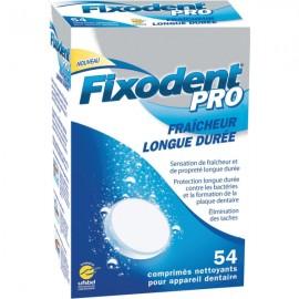 Fixodent Pro Comprimés Nettoyants pour Prothèse Dentaire X54