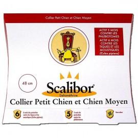 Collier Petit et Moyen Chien Scalibor