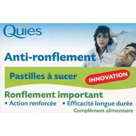 Quies pastilles anti-ronflement