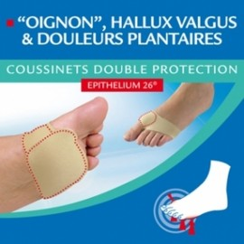 COUSSIN DOUBLE PROTECTION EPITACT 11CM
