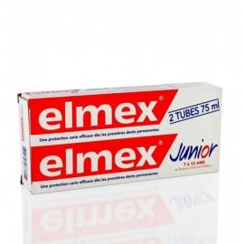 Dentifrice Elmex Junior 6-12 ans 2X75 ml