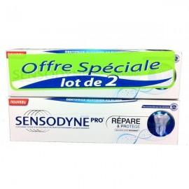 Sensodyne Pro Répare et Protège Menthe Fraîche 2X75ml