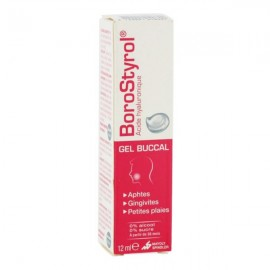 BOROSTYROL GEL BUCCAL TUBE 12ML