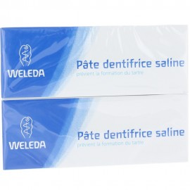 Pâte Dentifrice Saline Weleda 2X75 ml