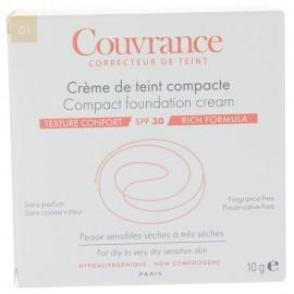 Crème de Teint Compacte Couvrance Confort Porcelaine 1.0 Avène
