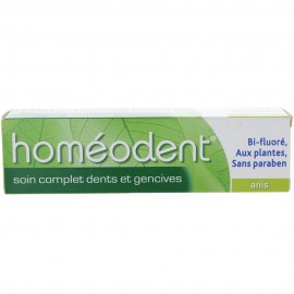 Homéodent Dentifrice Soin Complet Anis 75 ml