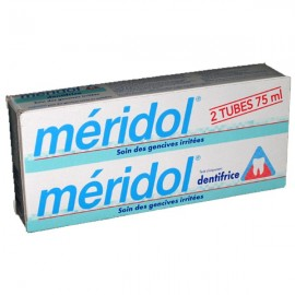 Dentifrice Meridol Protections Gencives 2X75 ml