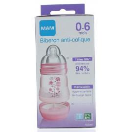Biberon Easy Start Anti-colique Rose Mam