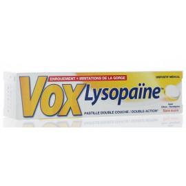 VOX LYSOPAINE 18 PASTILLES