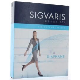 SIGVARIS BAS AUTO-FIXANTS DIAPHANE PIED OUVERT DE SERIE CLASSE 2