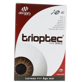 DERGAM TRIOPTEC VOIE ORALE BTE 180 CAPSULES