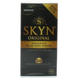 Préservatifs Skyn Original Manix X20