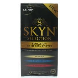 MANIX SKYN SELECTION BTE 3 X 3 PRESERVATIFS PREMIUM SANS LATEX