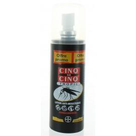 CINQ/CINQ TROPIC LOTION INSECTES AEROSOL 100ML