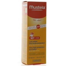 Lait Solaire Très Haute Protection SPF50+ Mustela 40 ml