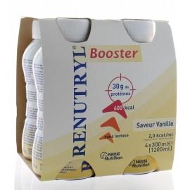 RENUTRYL BOOSTER 4X300ML SAVEUR VANILLE