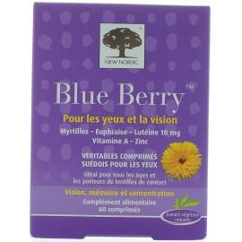 BLUE BERRY YEUX ET VISION X60
