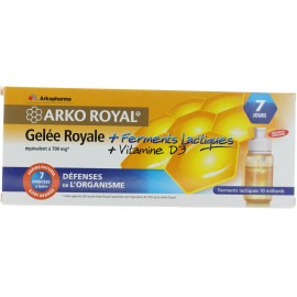 ARKO ROYAL GELEE ROYAL 7 UNIDOSES
