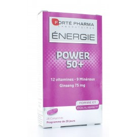 FORTE PHARMA ENERGIE POWER 50+ FORME & EQUILIBRE - 28 COMPRIMES