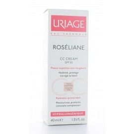 URIAGE ROSELIANE CC CREAM ROUGEURS 40 ml