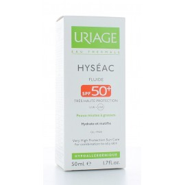 URIAGE HYSEAC FLUIDE SPF50+ TRES HAUTE PROTECTION 50 ml
